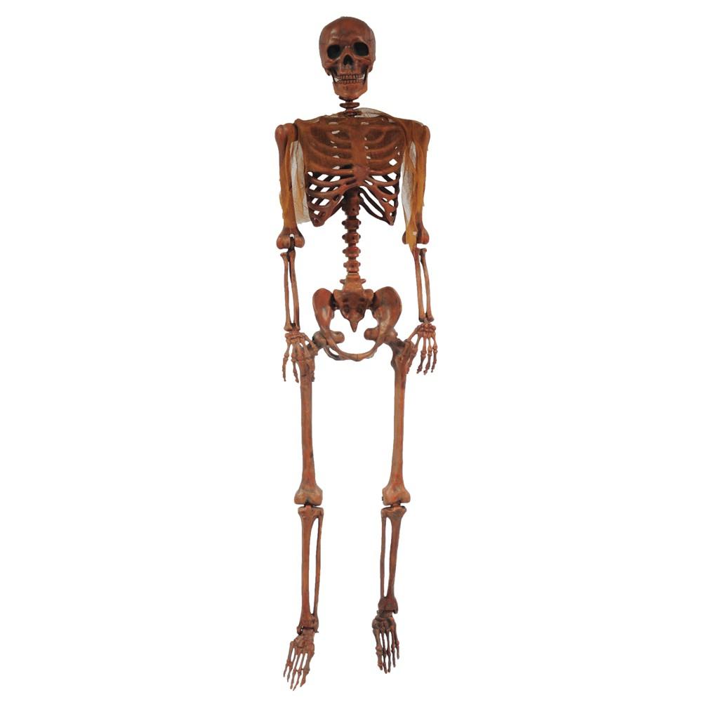 "Image of ""34"""" Halloween Decayed Skeleton Pose N Stay"""