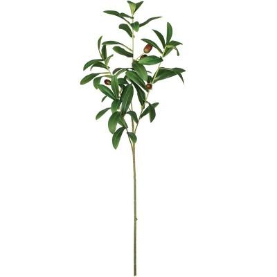 """Sullivans Artificial Olive Leaf Spray 26""""H Green"""