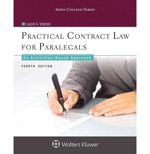 Practical Contract Law for Paralegals : An Activities-based Approach (Paperback) (Laurel A. Vietzen) - image 1 of 1