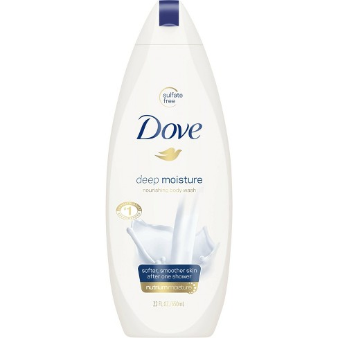 Dove Deep Moisture Nourishing Body Wash for Dry Skin - 22 fl oz - image 1 of 4