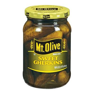 Mt. Olive Sweet Gherkin Pickles - 16oz