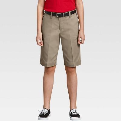 Dickies Girl Juniors' Classic Stretch Bermuda Shorts