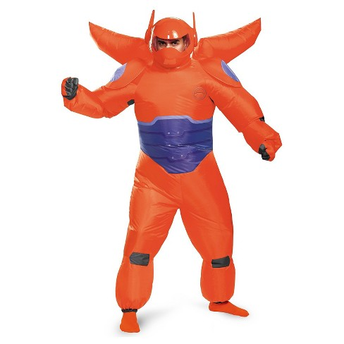 Big Hero 6: Red Baymax Inflatable Men's Costume - image 1 of 1