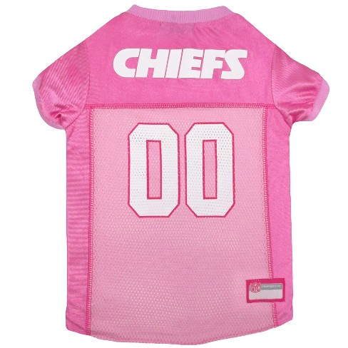 NFL Pets First Pink Pet Football Jersey - Kansas City Chiefs   Target e45c47ddb