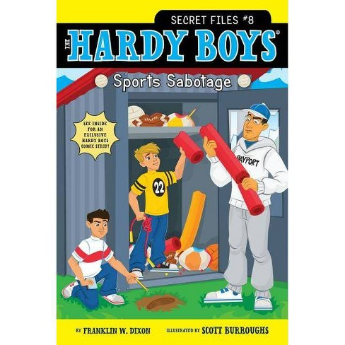 Sports Sabotage - (Hardy Boys: Secret Files) by  Franklin W Dixon (Paperback) - image 1 of 1