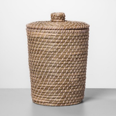Solid Bathroom Wastebasket Glazed Peach - Opalhouse™