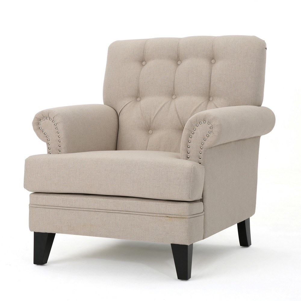 Anthea Club Chair - Wheat - Christopher Knight Home