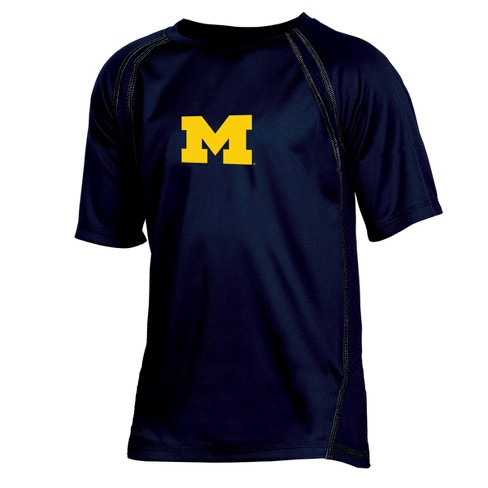 Michigan Wolverines Boy's Impact Poly Performance T-Shirt - image 1 of 1