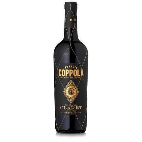 Francis Coppola Diamond Black Label Claret Cabernet Sauvignon Red Wine - 750ml Bottle - image 1 of 4