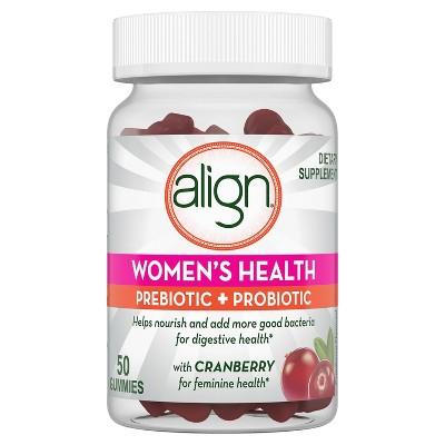 Align Women's Health Prebiotic + Probiotic Gummies