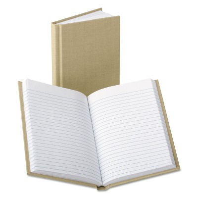 Boorum & Pease Handy Size Bound Memo Book Ruled 4-3/8 x 7 White 96 Sheets 6559