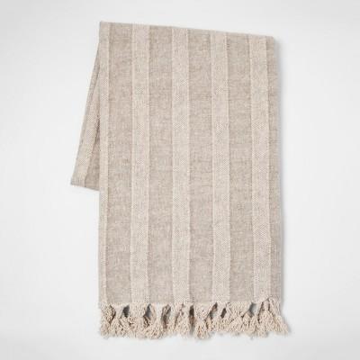 Linen Stripe Throw - Threshold™