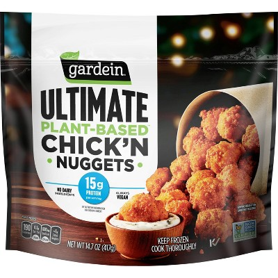 Gardein Frozen Ultimate Plant-Based Chick'n Nuggets - 14.7oz