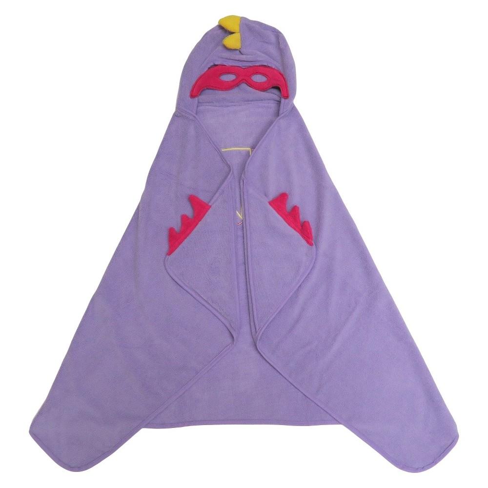 Super Hero Purple Hooded Bath Towel Purple - Pillowfort, Shy Lavender