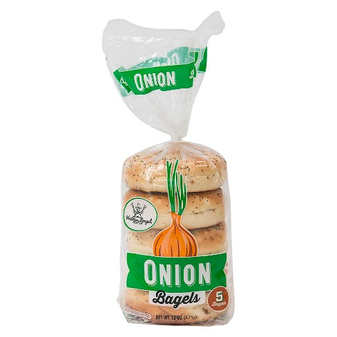 Western Bagel Onion Bagels - 5ct - image 1 of 1