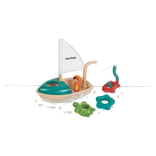 PlanToys Activity Boat, bath toys image number null