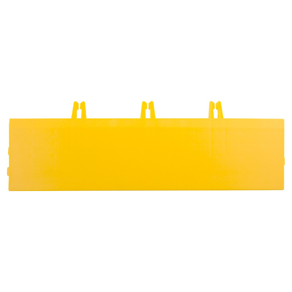 Image of 12 Armadillo Tile Bevels 4 Pack - Bright Yellow