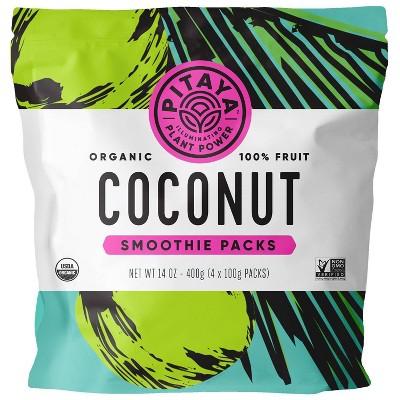 Pitaya Plus Frozen Organic Coconut Smoothie Packs - 14oz