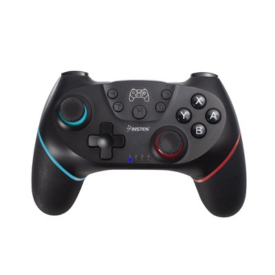 2-Pack Wireless Pro Controller For Nintendo Switch / Switch Lite Console, Supports Gyro Axis, Turbo and Dual Vibration, Black by Insten