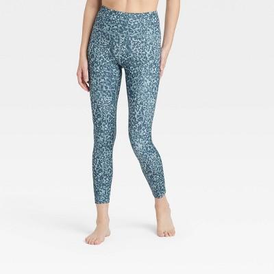 Women's Leopard Print High-Rise Printed 7/8 Leggings - JoyLab™