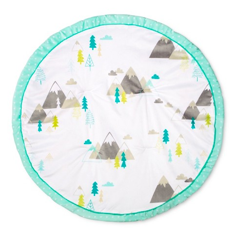 Round Activity Playmat Adventure Awaits - Cloud Island™ Mint - image 1 of 3