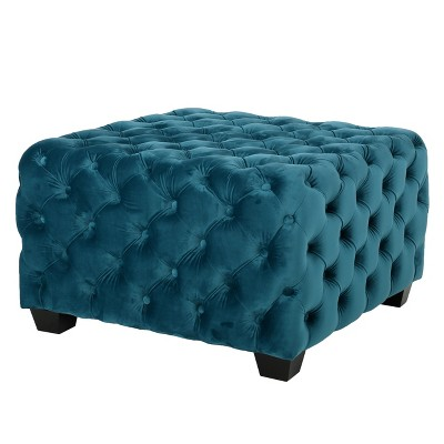 Piper Tufted Square Ottoman Bench - Christopher Knight Home