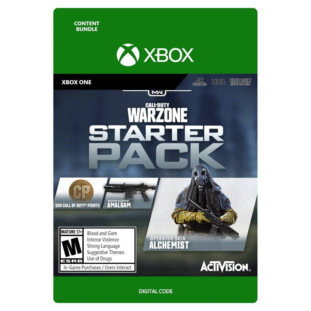 Call Of Duty Warzone Starter Pack Xbox One Digital