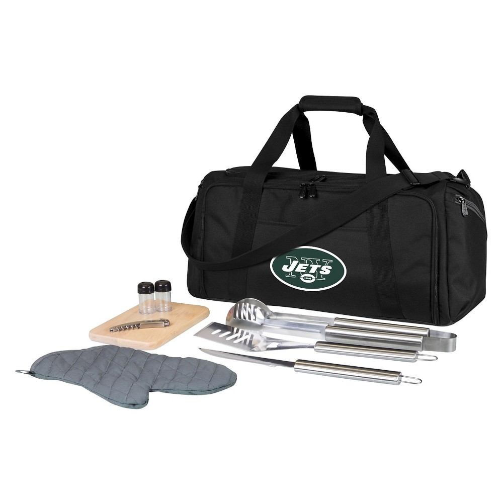 New York Jets - Bbq Kit Cooler by Picnic Time