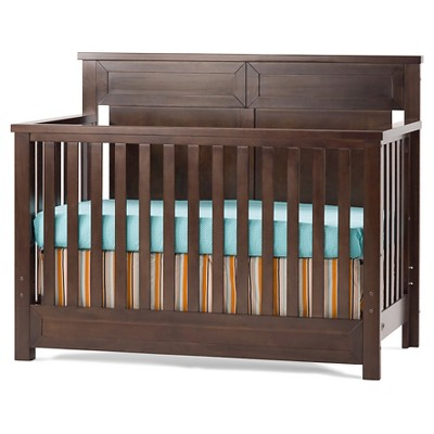 Child Craft Abbott™ 4-in-1 Convertible Crib - Walnut