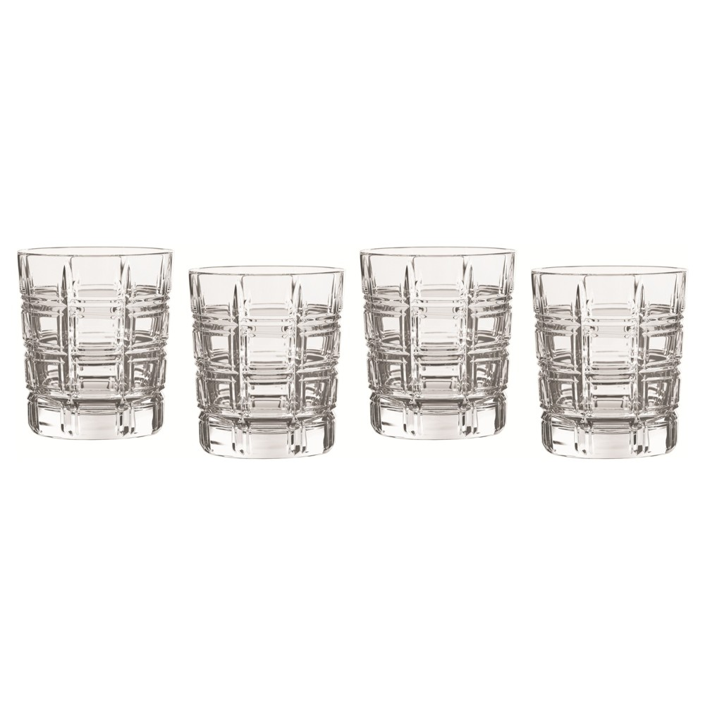 Image of Marquis by Waterford Crosby Crystal Double Old-Fashioned Glass 10oz - Set of 4