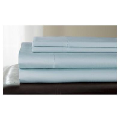 Andiamo Cotton Sheet Set 500TC (Queen)Blue Haze