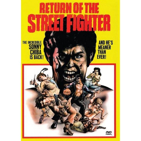 Return Of The Street Fighter (DVD) - image 1 of 1