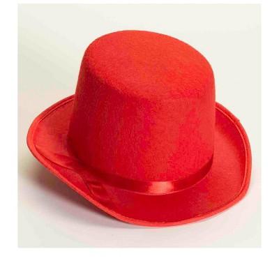 Forum Novelties Red Deluxe Top Hat