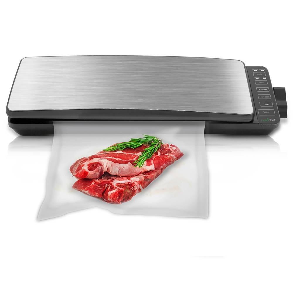 Image of The NutriChef Digital Food Vacuum Sealer System #1, Black