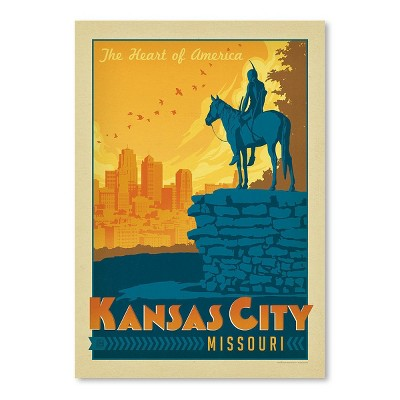 Americanflat Asa Kansascity by Anderson Design Group Poster