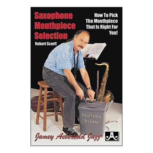 Jamey Aebersold Saxophone Mouthpiece Selection (Book) - image 1 of 1