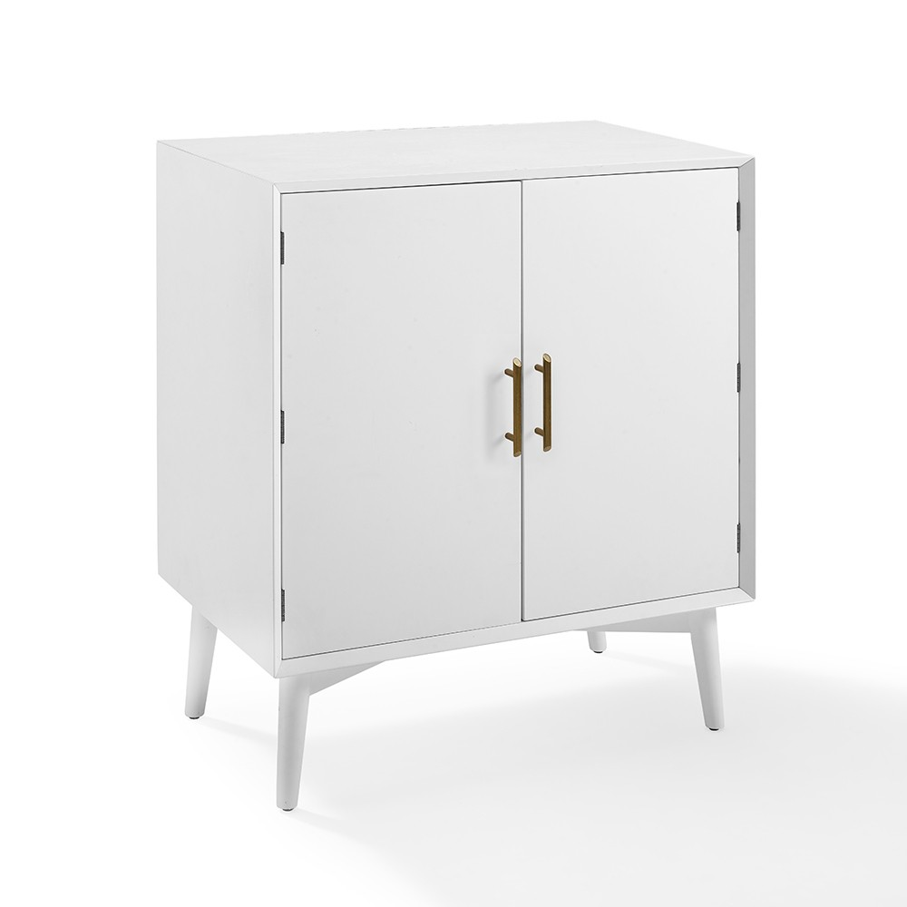 Awe Inspiring Landon Bar Cabinet White Crosley Ibusinesslaw Wood Chair Design Ideas Ibusinesslaworg