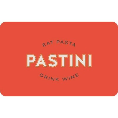 Pastini Pastaria Gift Card (Email Delivery)