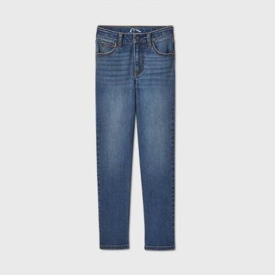 Girls' Girlfriend Mid-Rise Jeans - art class™ Light Blue