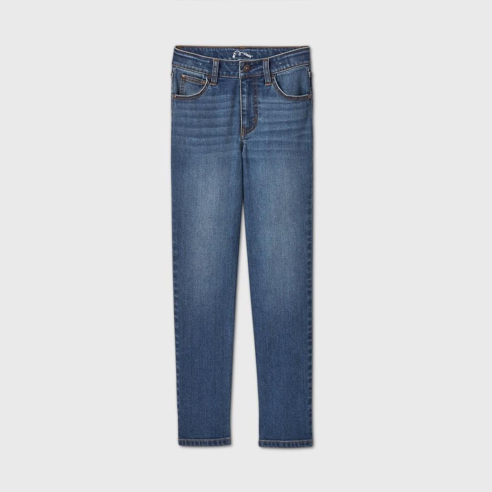 Discounts Girls' Girlfriend Mid-Rise Jeans - art classͲ Light