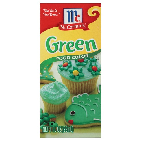 McCormick Green Food Color - 1oz : Target