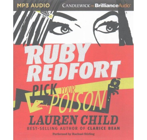 Ruby Redfort Pick Your Poison (MP3-CD) (Lauren Child) - image 1 of 1