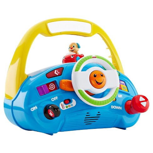 Fisher-Price Laugh & Learn Puppy's Smart Stages Driver - image 1 of 9