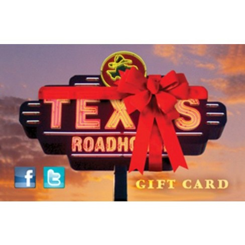 Texas Roadhouse Gift Card Email Delivery Target
