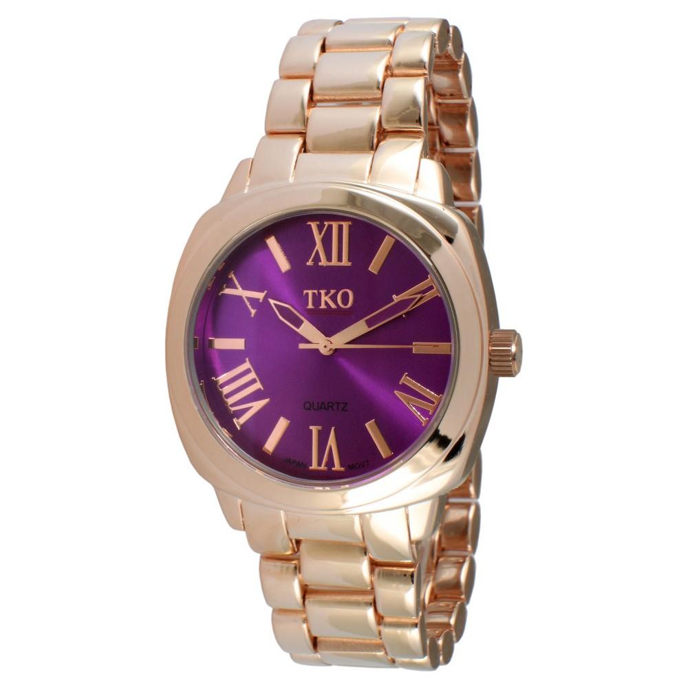 Women's Tko Boyfriend Bracelet Watch - Purple