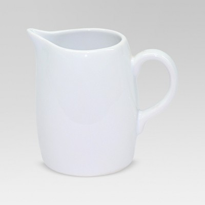 Porcelain Creamer 6oz White - Threshold™