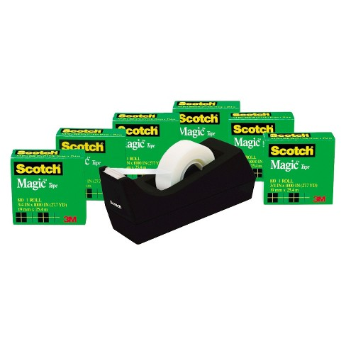 Scotch 6-ct Transparent Tape - Clear - image 1 of 1
