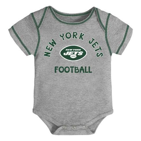 5236c46d NFL New York Jets Baby Boys' Newest Fan 3pk Bodysuit Set