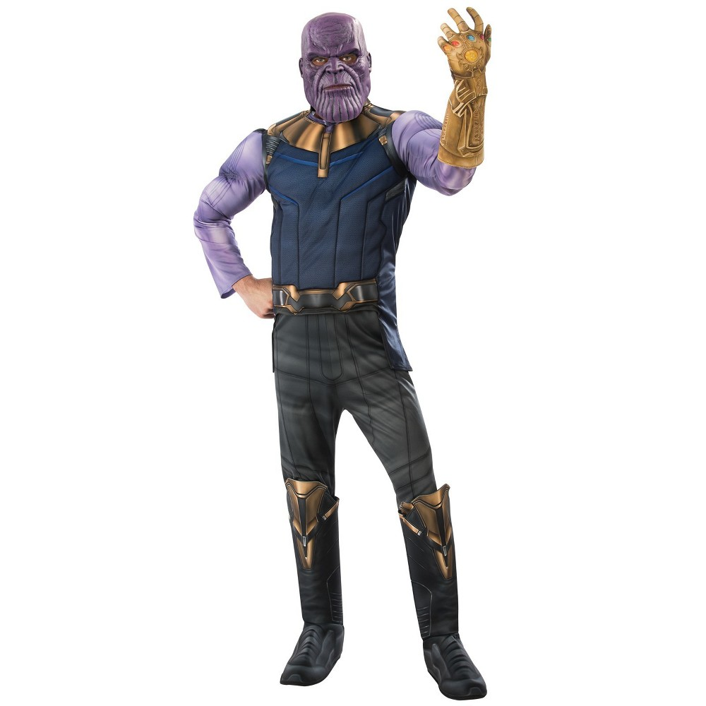 Men's Marvel Avengers Infinity War Thanos Halloween Costume XL, Multicolored