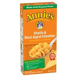 Annie's Shells and Real Aged Cheddar Macaroni & Cheese - 6oz